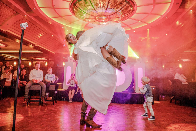 dansen tot in de late uurtjes trouwen