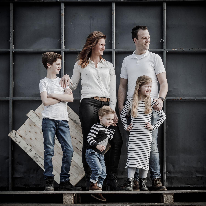 familiefoto industrieel